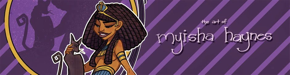 Myisha Haynes' Art Blog