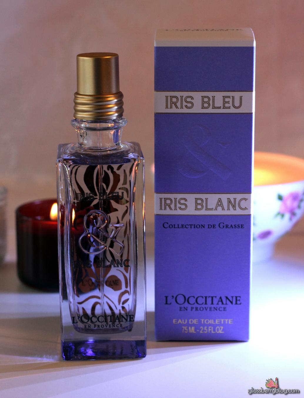 ל'אוקסיטן - בושם אירוס כחול & אירוס לבן / L'Occitane - Iris Bleu & Iris Blanc Eau De Toilette