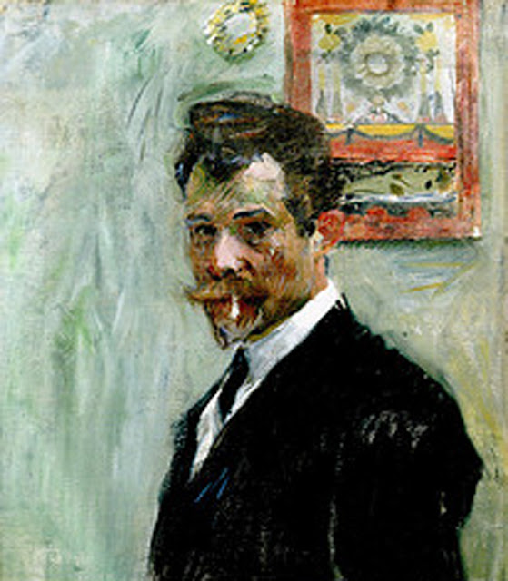 Jan Preisler, Portraits of Painters, Self Portraits