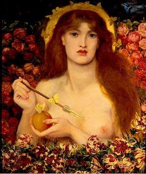 Venus Verticordia, Dante Rosetti
