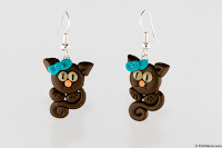 Cat earrings Comercial Photography