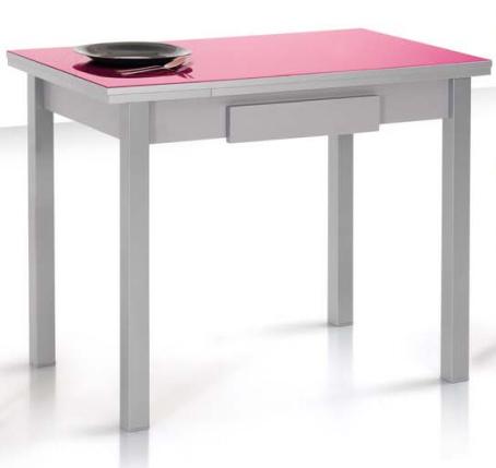 Precio mesa cocina cristal extensible moderna redonda tu - Mesas auxiliares para cocina ...