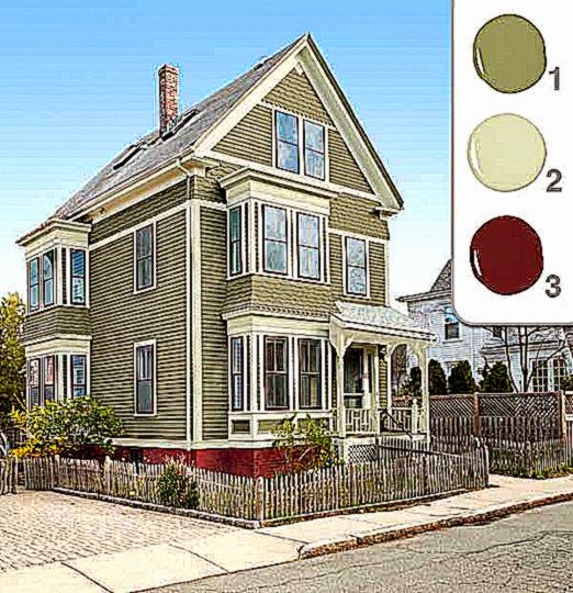 Exterior Home Colors Pictures Free Coloring Pictures