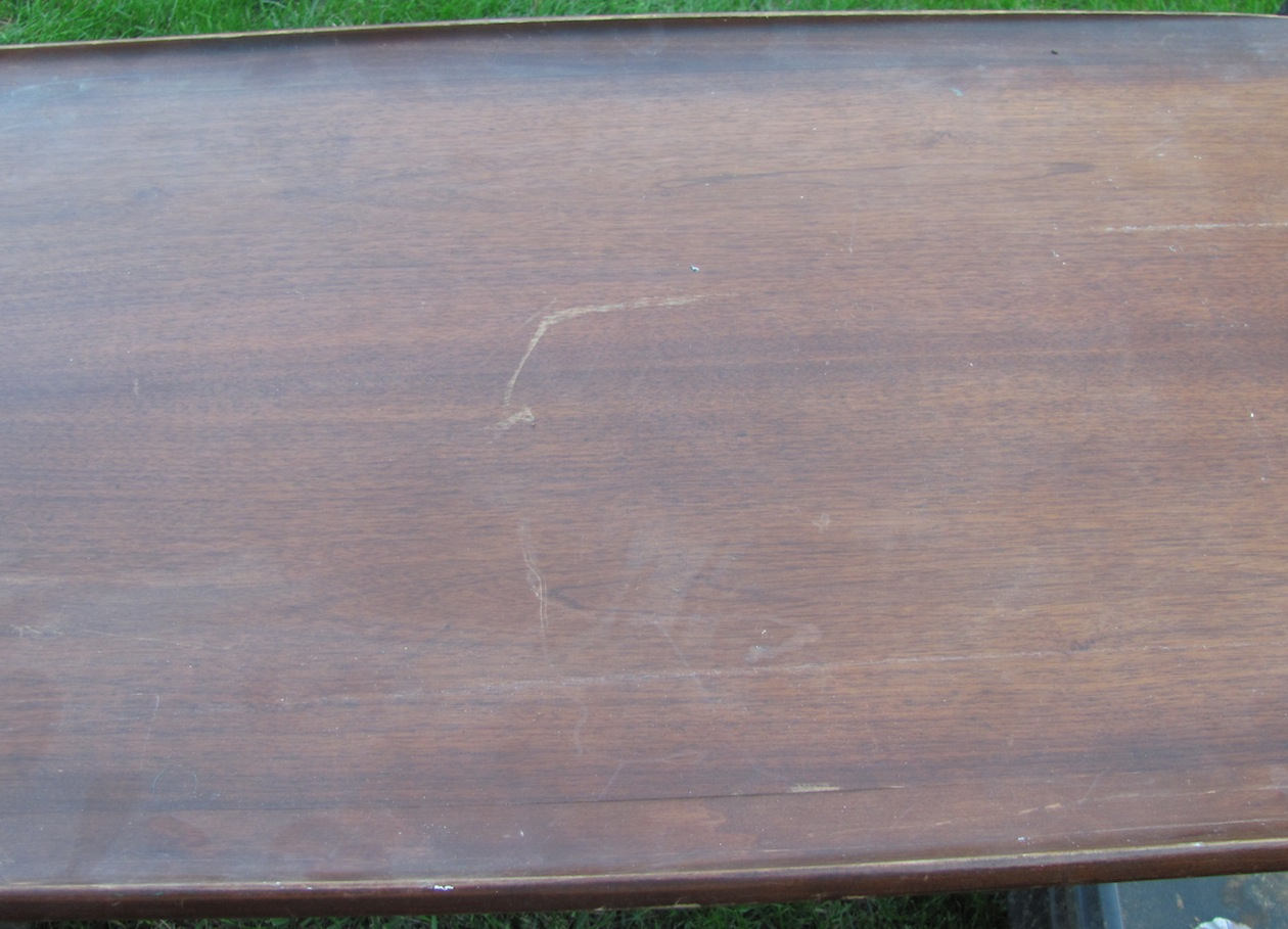 Damage to table strip or sand