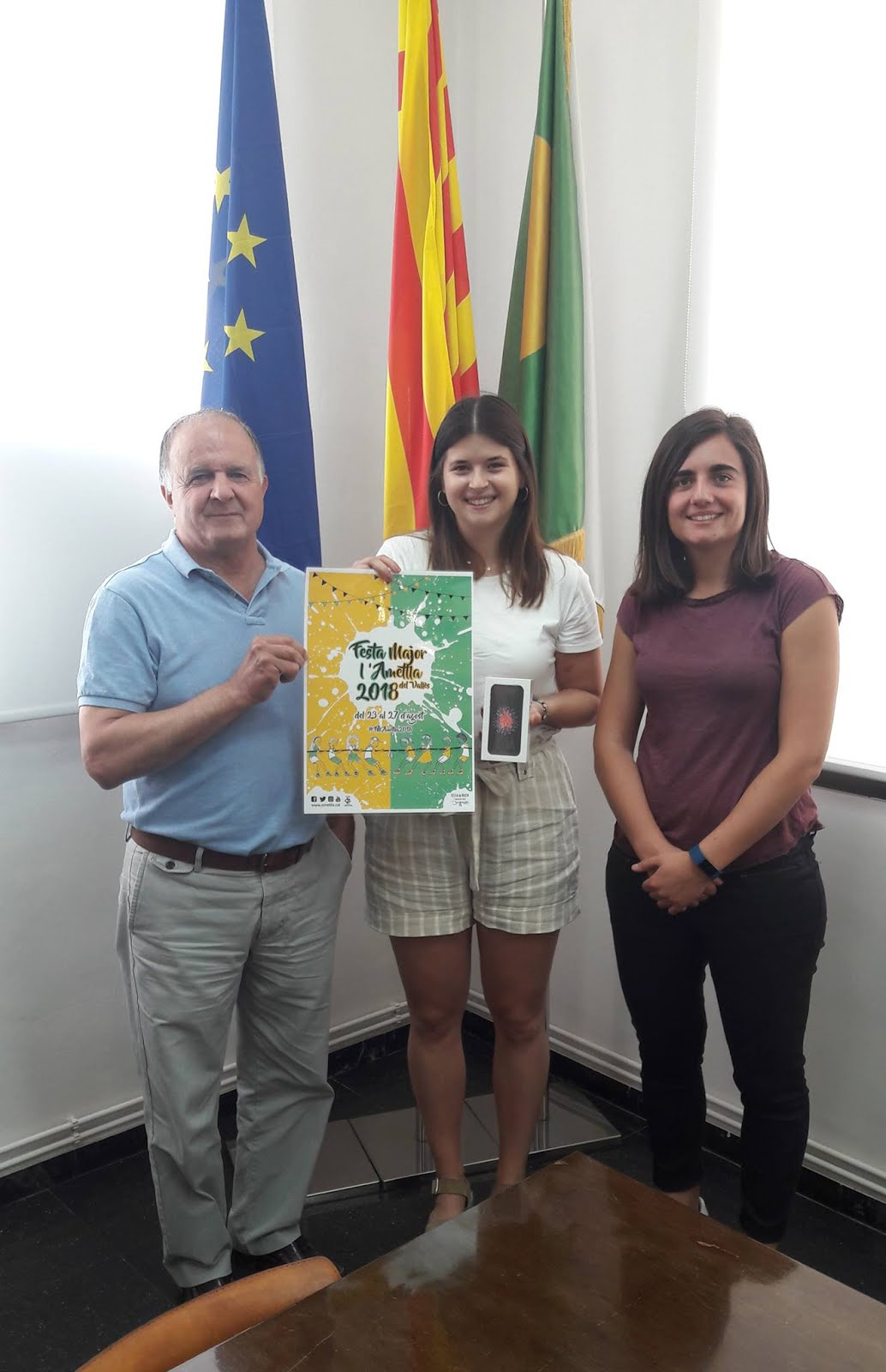 Cartell Festa Major l'Ametlla del Vallès 2018