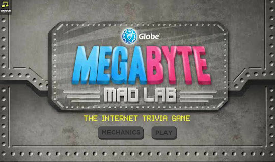 Contest: Win a Samsung Galaxy Note 2 by playing Megabyte Mad Lab game from Globe