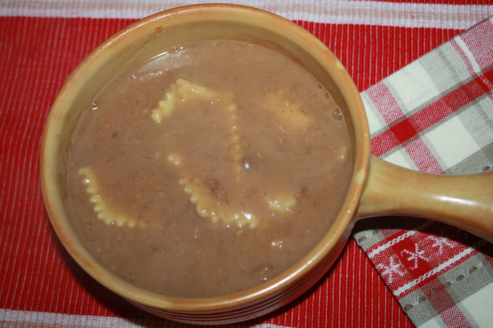 La Cuciniera Moderna: Pasta e fagioli, ricetta veneta