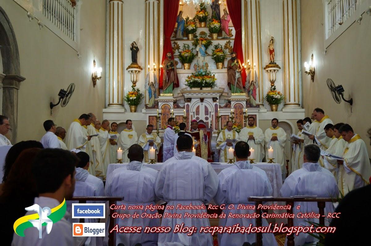 D. Nelson realiza ordenação diaconal em Paraíba o Sul.