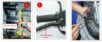 Berikut ini adalah tips ringan menangani disk brake seret pada saat ...