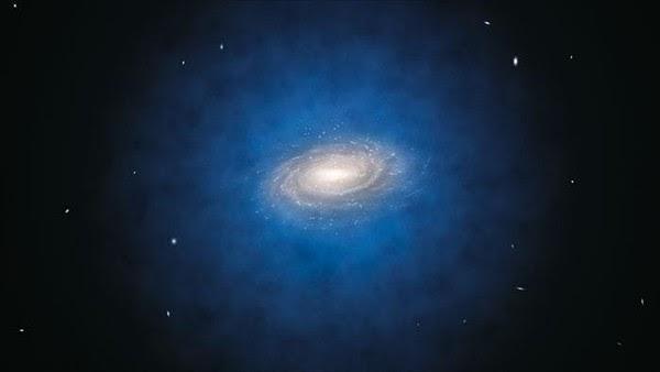 Galaksi Bima Sakti, Materi Gelap