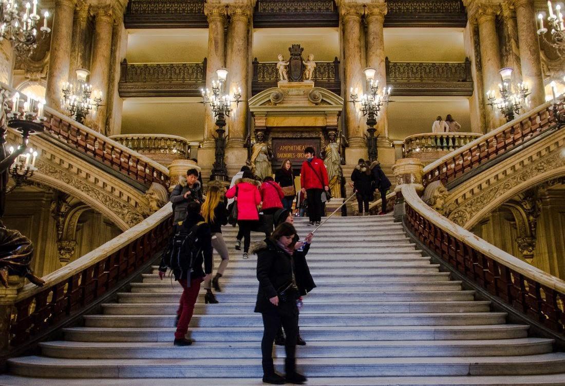 Opéra Garnier - grand escalier