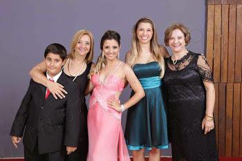 Gabrielzinho, Alessandra, Ariel, Stael e Adra