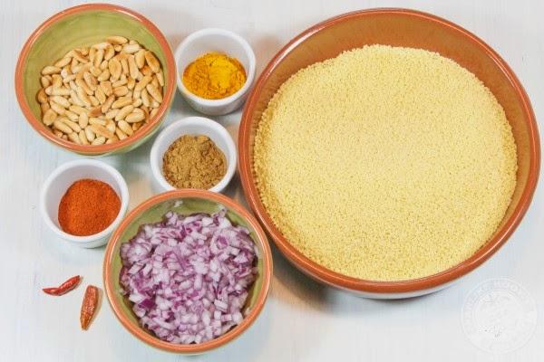 Pittige couscous met bloemkool