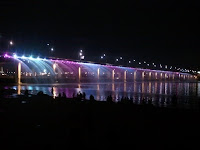 Banpo Bridge fountains