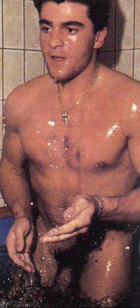 Alberto Tomba naked