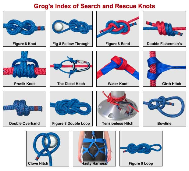knot tying instructions for boy scouts