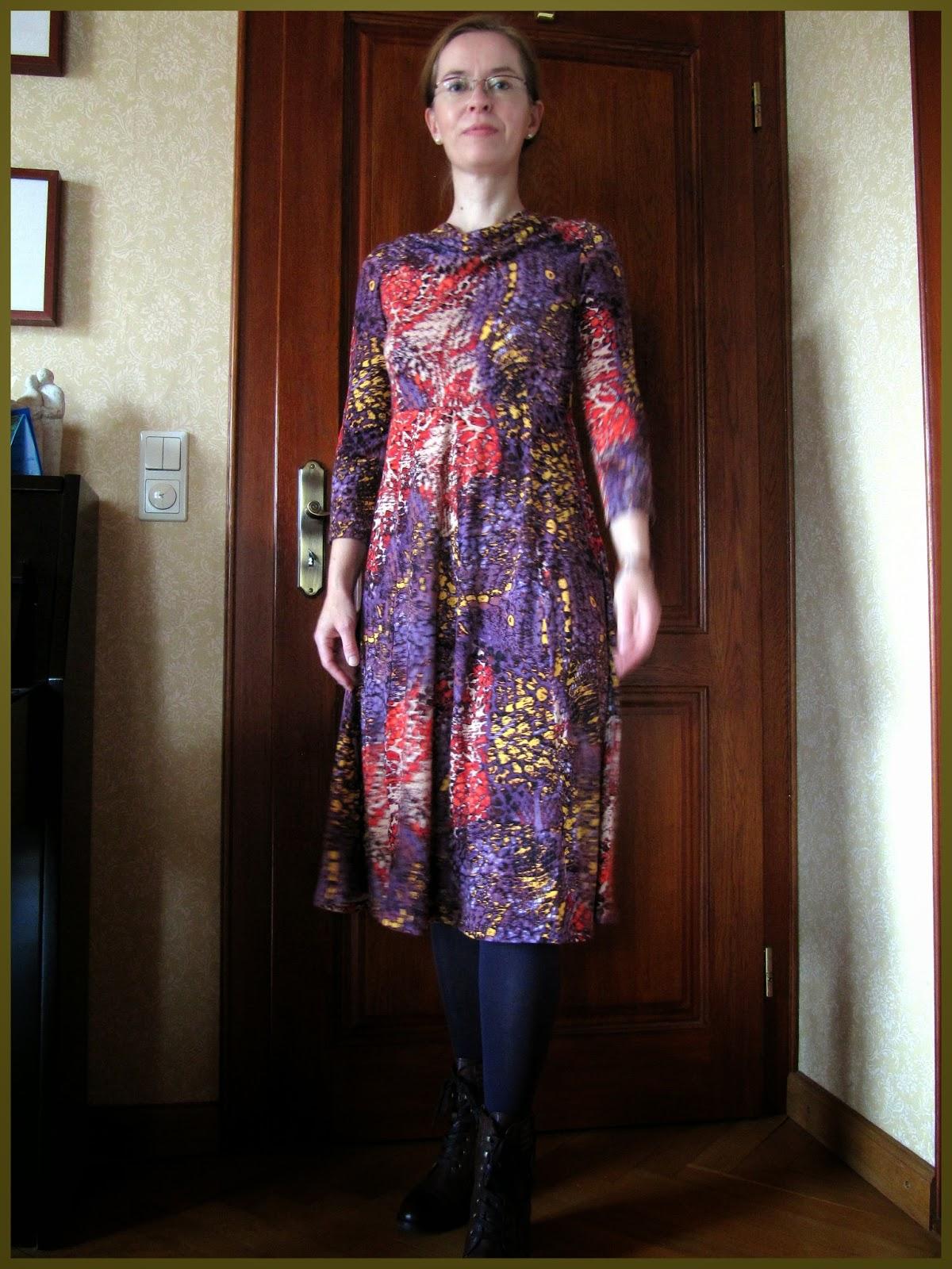"little el: Kleid/Dress ""Stream"" Ottobre Woman 2/2009/14"