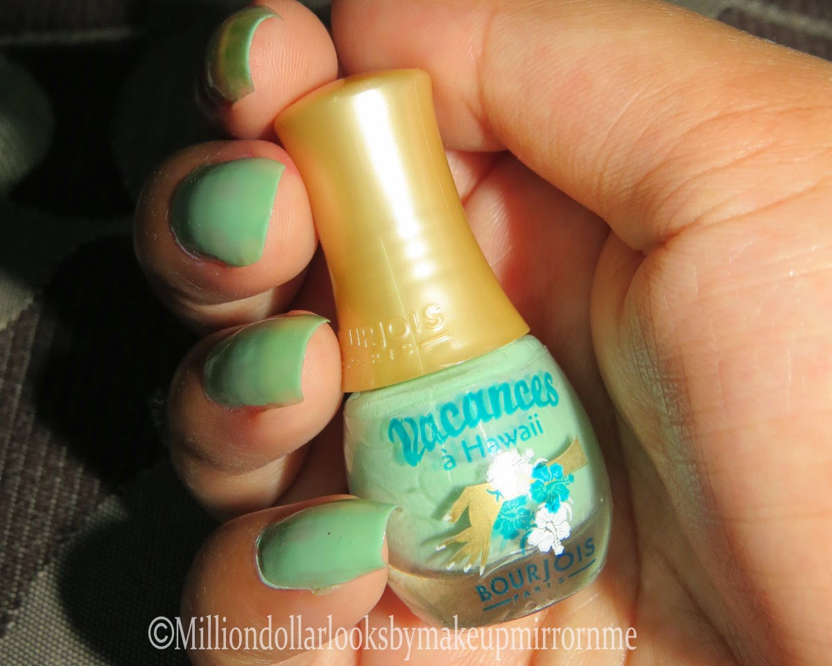 Summer nail paints recommendations, Nailart tutorials, Boujois vacances a Hawaii 72