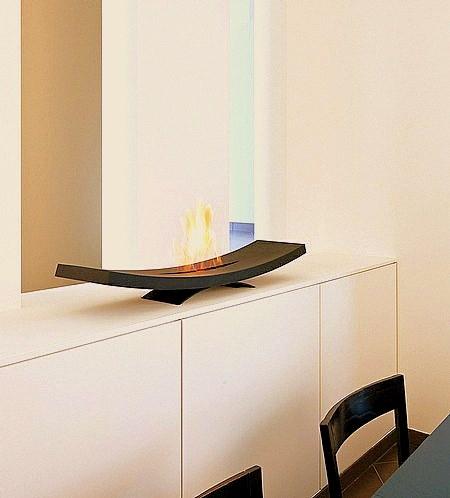 Muebles y decoraci n de interiores zen una chimenea de bioetanol para el sal n - Cuanto consume una chimenea de bioetanol ...