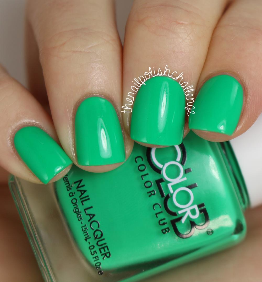 Live Love Polish: Neon Color Club Polish Swatch Spam | The Nail ...