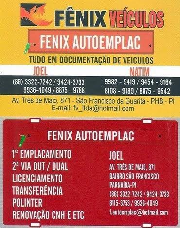 FÊNIX VEÍCULOS E AUTOEMPLAC