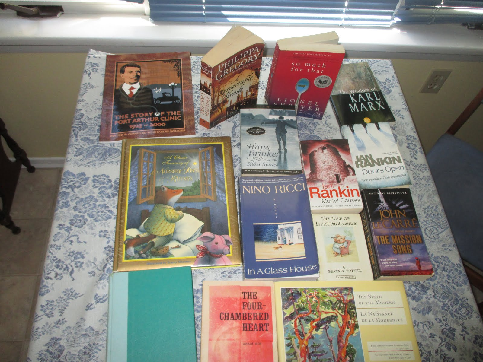 My Haul from the South Gillies Book Swap