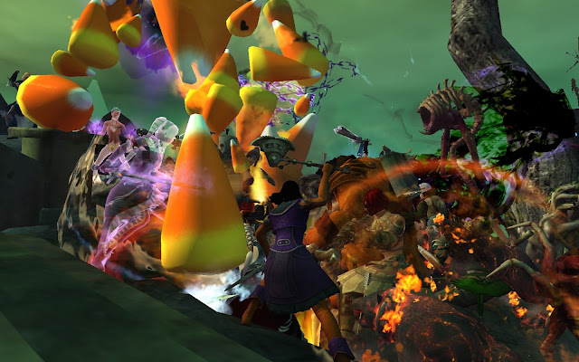 GW2 Guild Wars 2 Halloween Champion Candy Corn Elemental