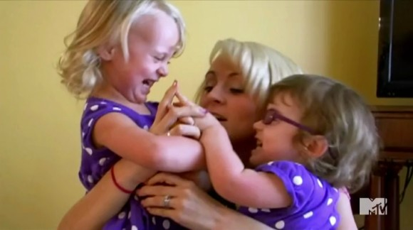 Chelsea celebrates aubree s third birthday jenelle learns she has a