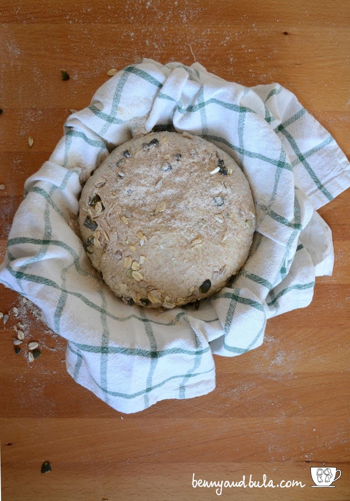ricetta pane multicereali e semi/seeded multigrain bread recipe