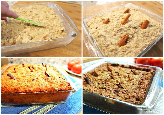 Budín de pan casero receta-3