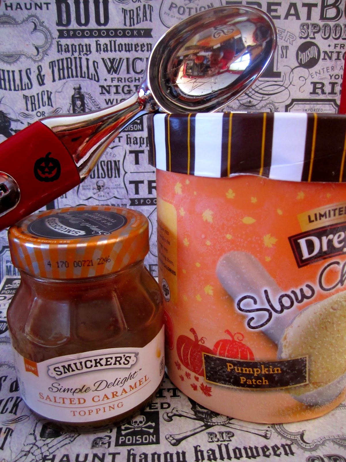 Caramel Sauce, Pumpkin Ice Cream. Pumpkin Dessert