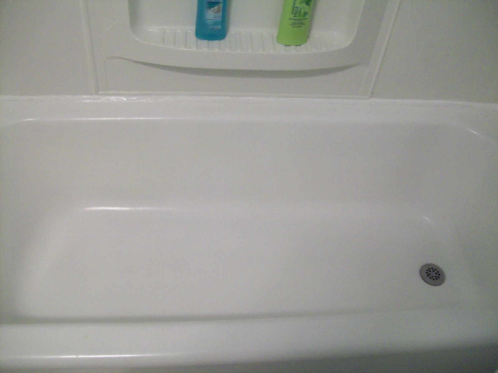 Refinishing The Bath Tub
