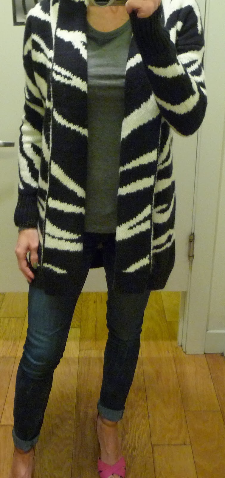 Express oversized chunky warm sweater