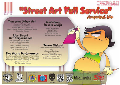 Street Art Full Services - Sastra UNEJ
