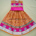 Pochampally Silk Kids Lehenga