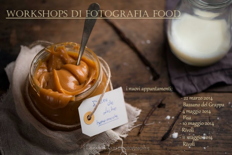 Workshops di fotografia food