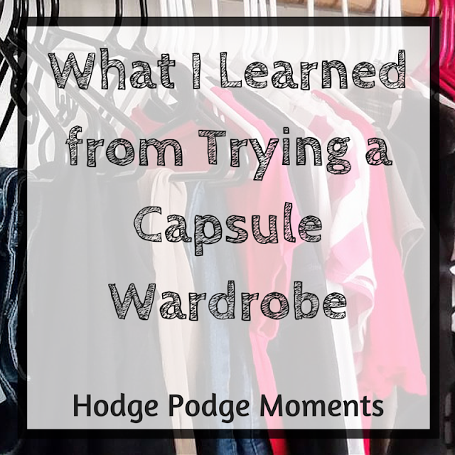 What I Learned from Trying a Capsule Wardrobe