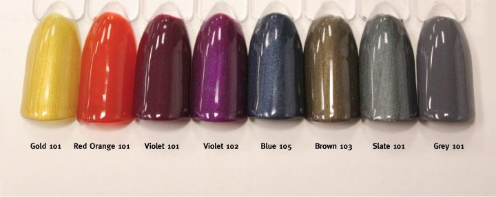 All New 8 Maniq Gel Polish Fall Colors Are Now Available More From Opi And Color Gloss Coming Soon