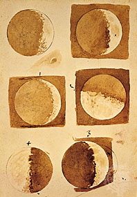 Galileo Moon Drawings