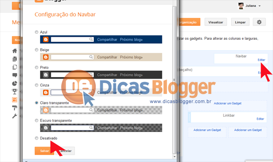 retirar-navbar-blogger
