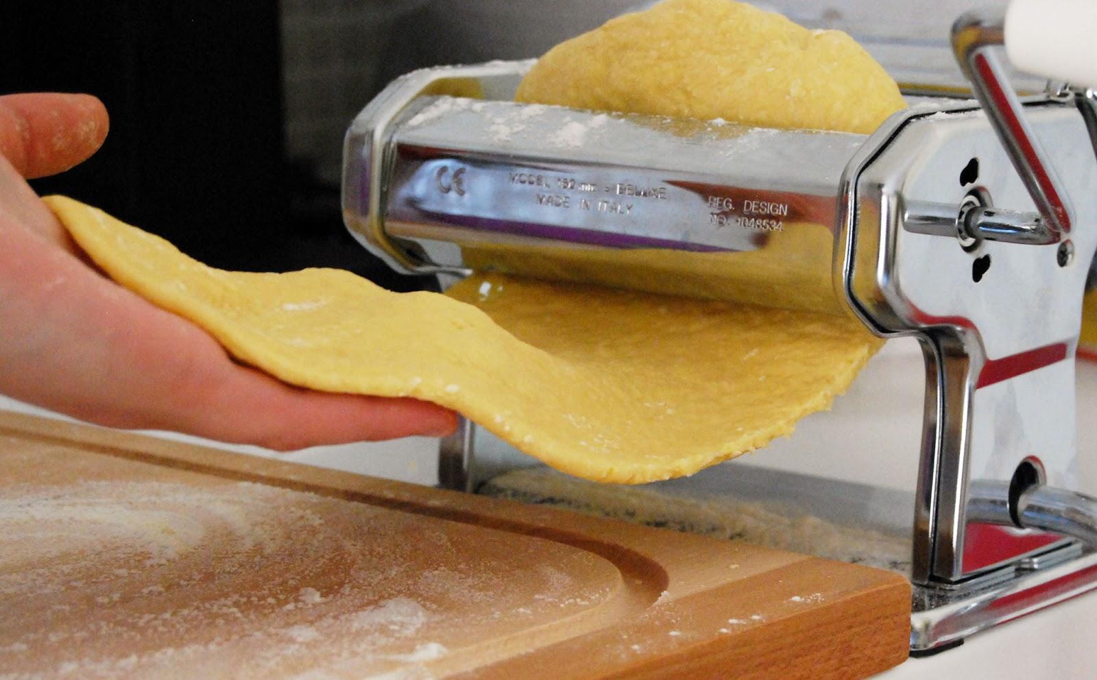 Una manciata di stelle ricettario fotografico pasta - Macchina pasta fatta in casa ...