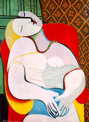 """""""The Dream"""" by Pablo Picasso (155.9 Million,)"""