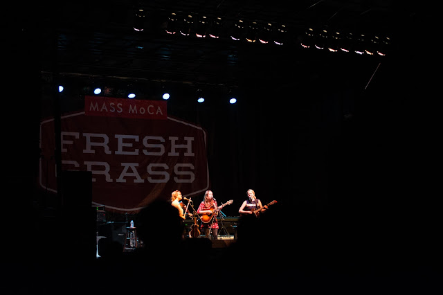 Fresh Grass review, bluegrass music, North Adams