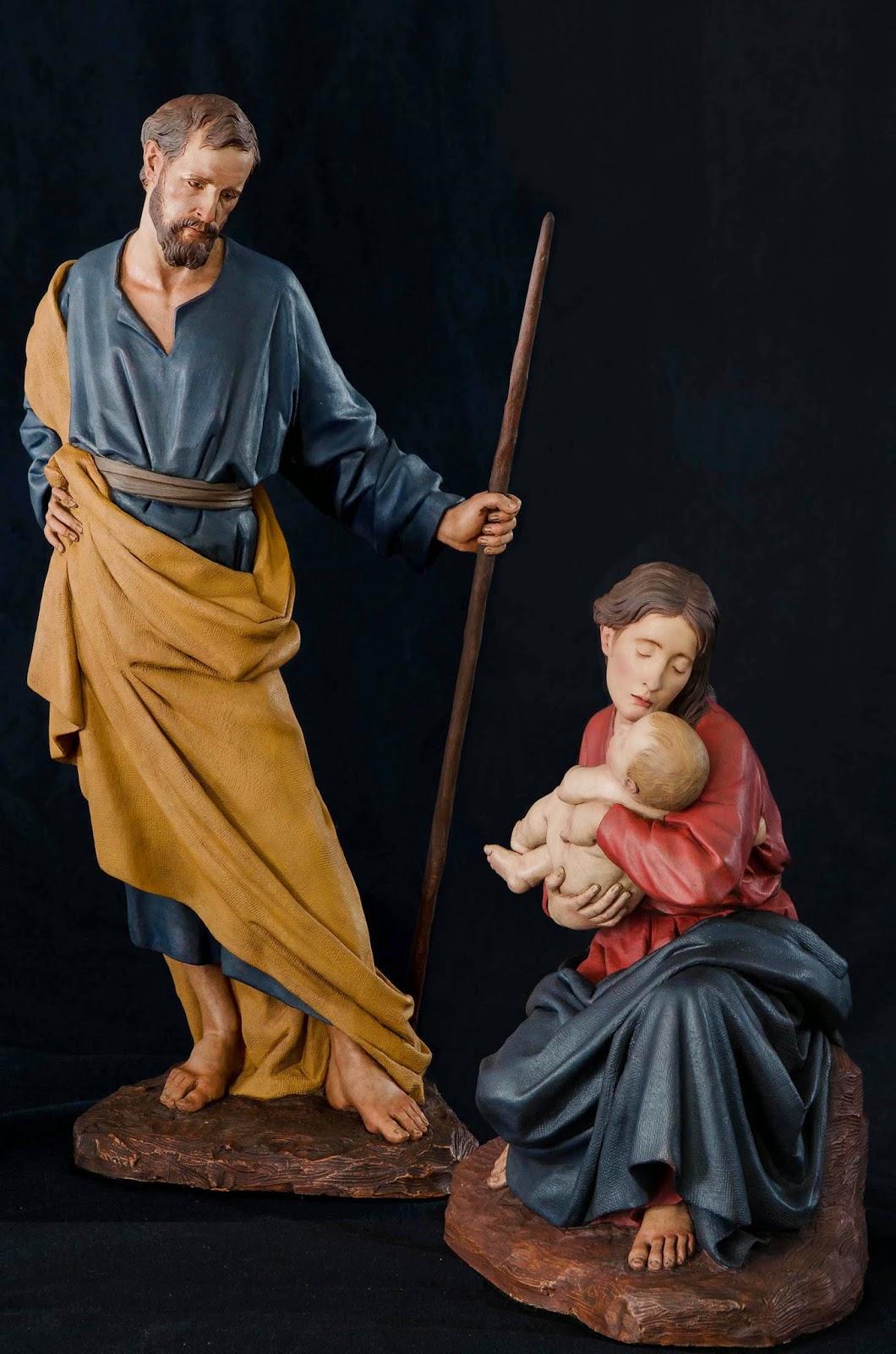 Nacimiento Belén Nativity presepe krippe Arturo Serra Barro cocido 37