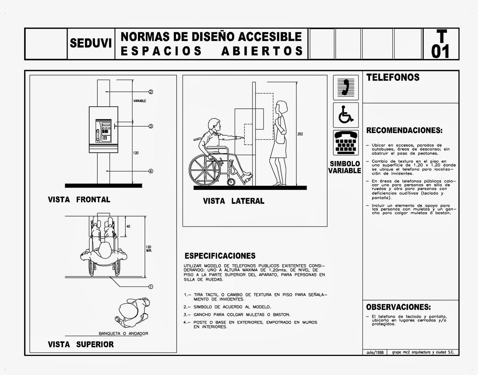 Baño Discapacitados Bloque Cad ~ Dikidu.com