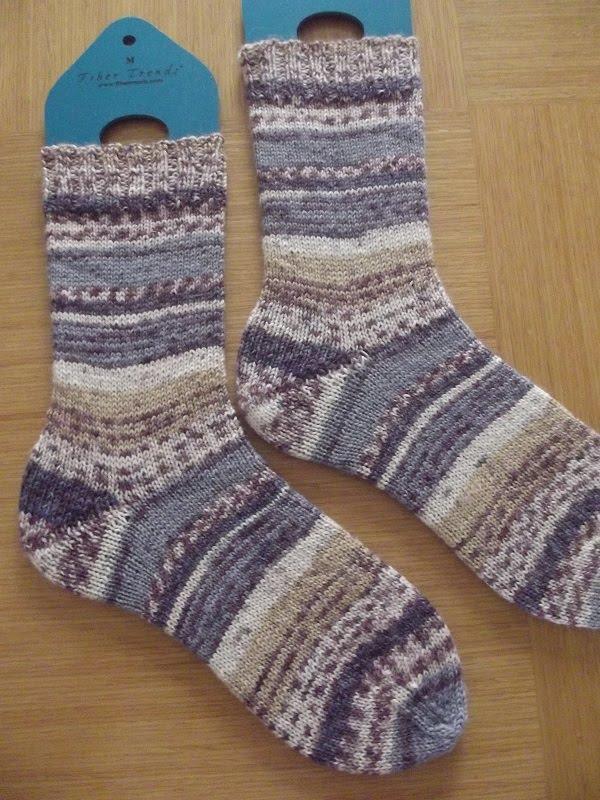 Lavender Socks
