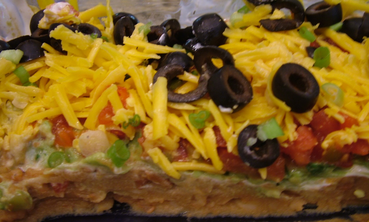 Mexican Seven Layer Dip | The Blonde Can Cook