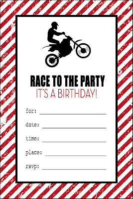 Remarkable image intended for birthday party invitations printable