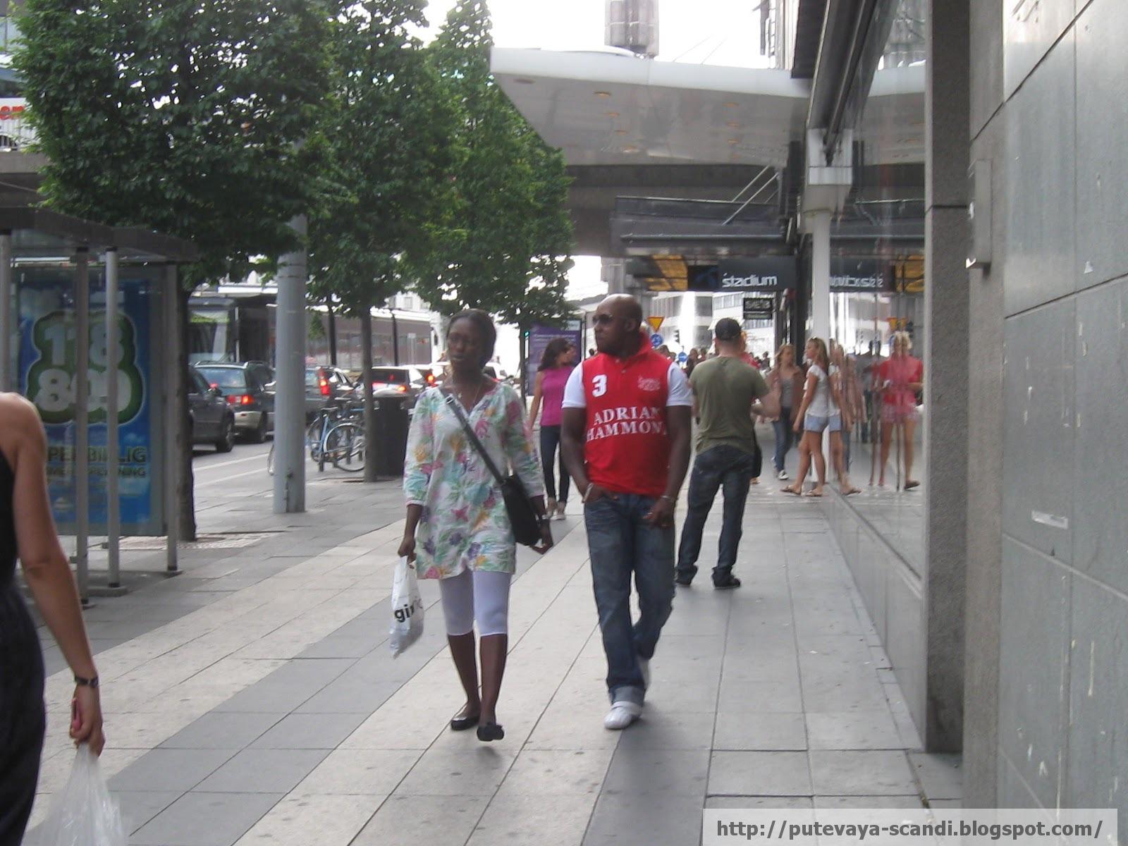 шагая по Стокгольму