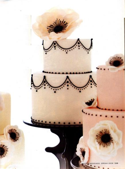 Life of a Vintage Lover A Birthday Wedding Cakes vintage wedding cakes